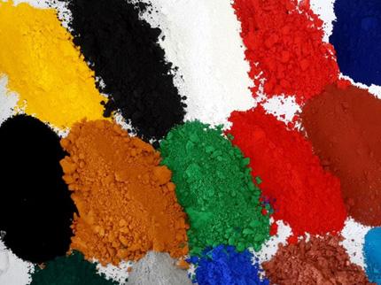 Solid powder coating